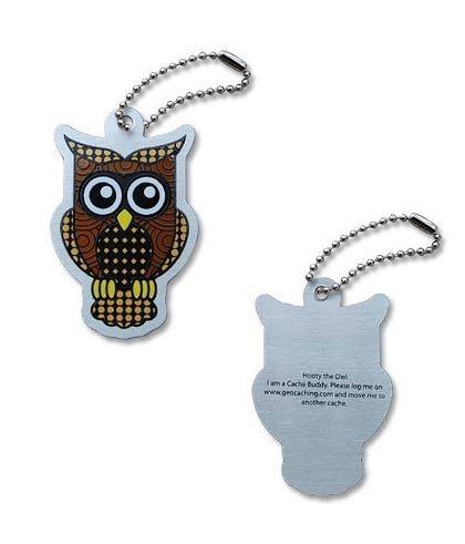Hooty the Owl Travel Tag