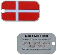 Denmark Flag Tag Dänemark Länder Tb