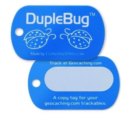CoinsAndPins® Geocaching Duple Bug