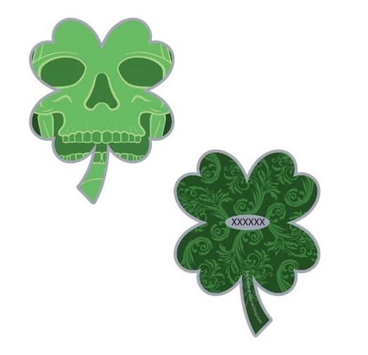 Lucky or Unlucky Geocoin- Nickel- LE mit Pin C&P