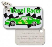 Travel racer - Formula green/grün TravelTag Auto