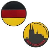 Country Micro Geocoin Köln - Germany Deutschland