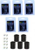 5 x Nano schwarz mit 10 Logstreifen