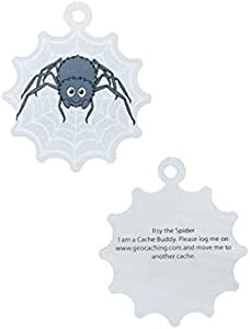 Itsy the Travel Tag Spider Spinne Spinnennetz Tb