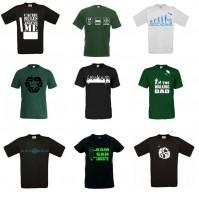 T-Shirt Konfigurator - NICHT Trackbar T-Shirts - Wunschfarbe Wunschmotiv-Copy XS