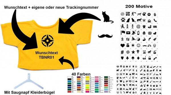 Mini Signal the Frog® T-Shirt trackbar gelb -